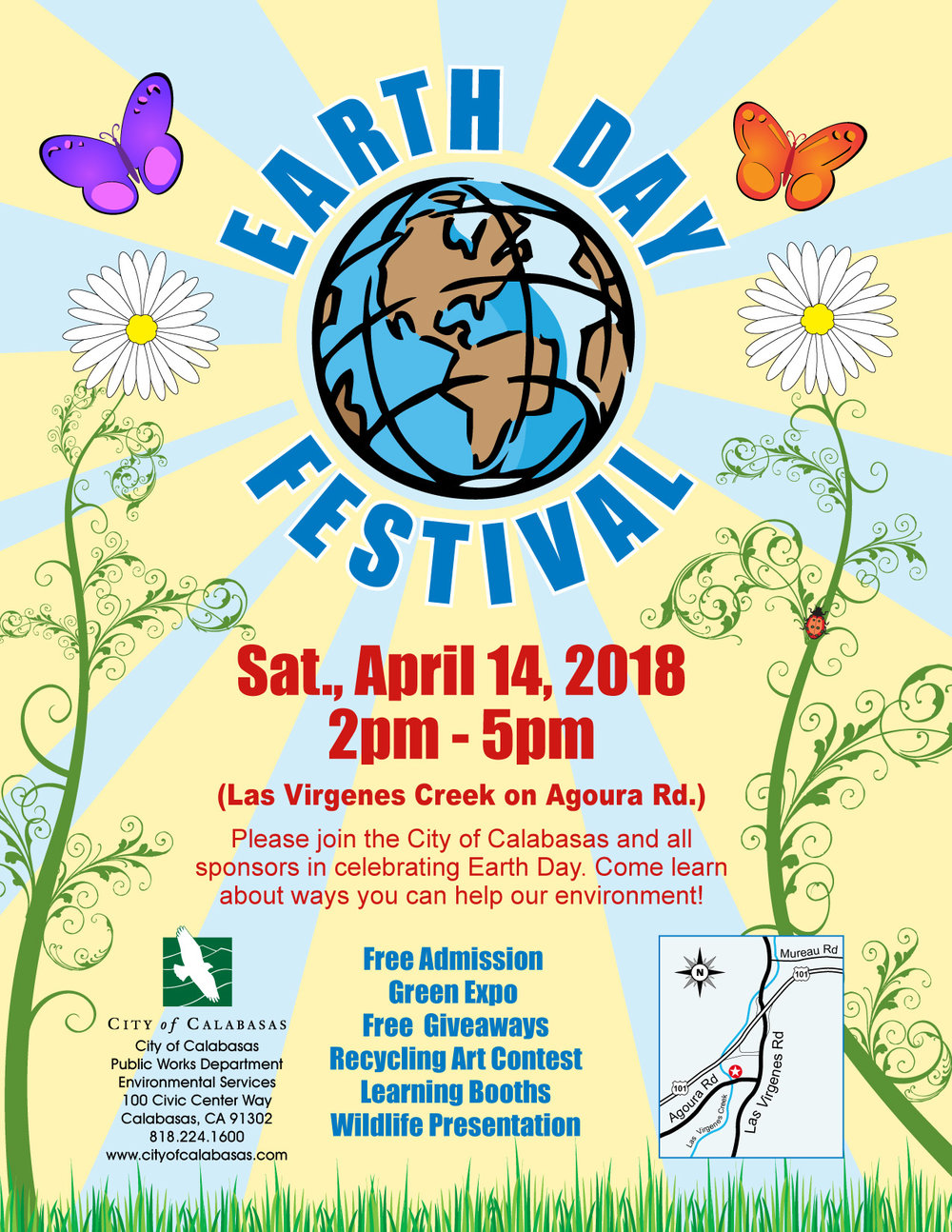 Come join Camellia N. & Friends to CELEBRATE the EARTH!  We will be creekside in Calabasas, CA. in honor of EARTH DAY 2018 and can't wait to see you there!