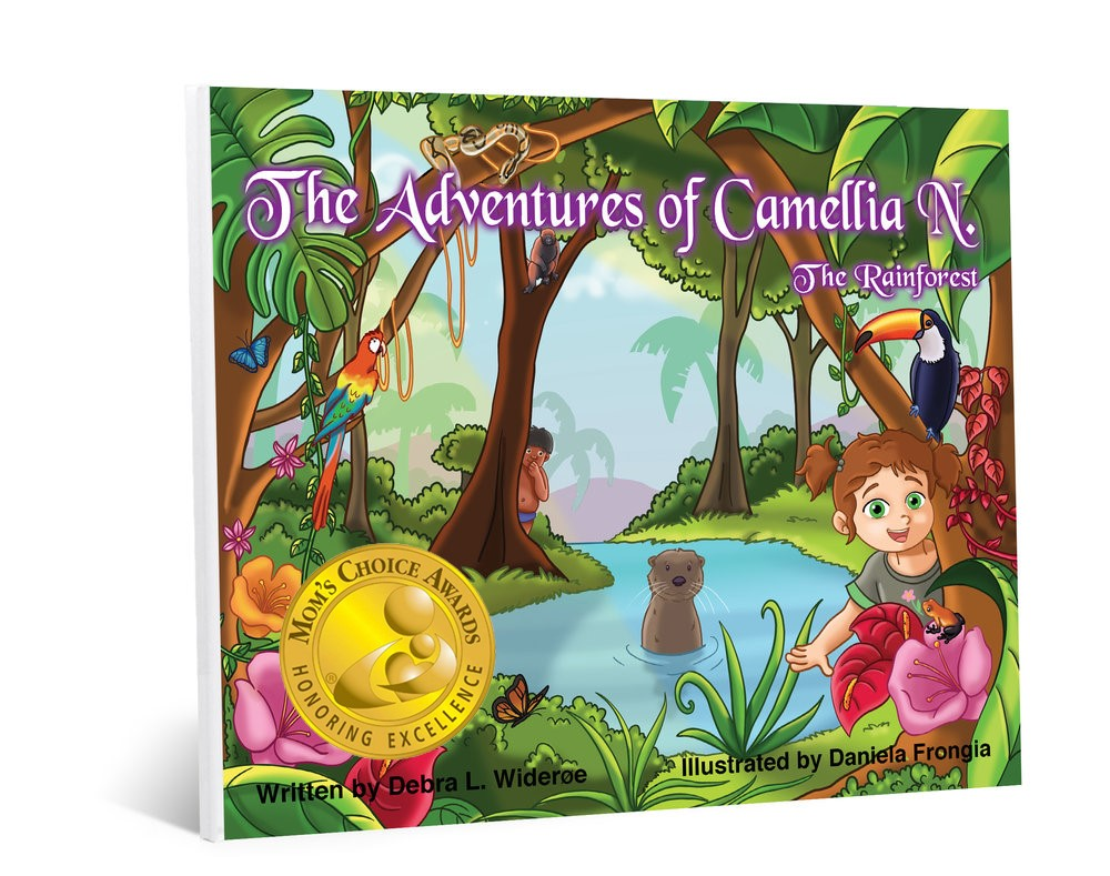 Winning Gold! - I am so HONORED to announce that BOOK #3, The Adventures of Camellia N. - The Rainforest just won GOLD! All three books are gold recipients of Mom's Choice Awards for excellence in family-friendly media. On shelf October 2nd.