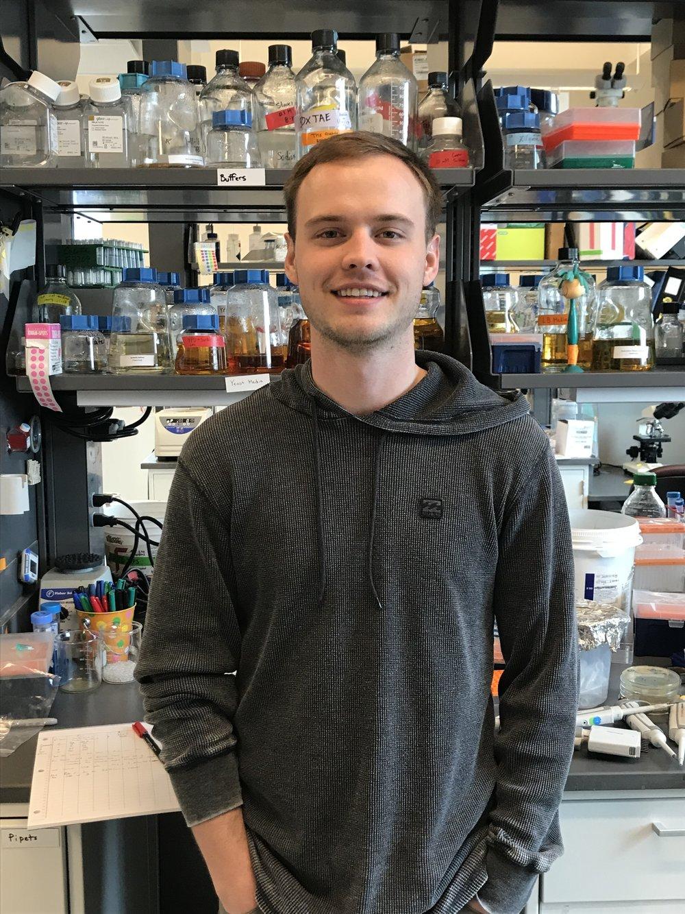 Griffin Kowalewski   Research Technician