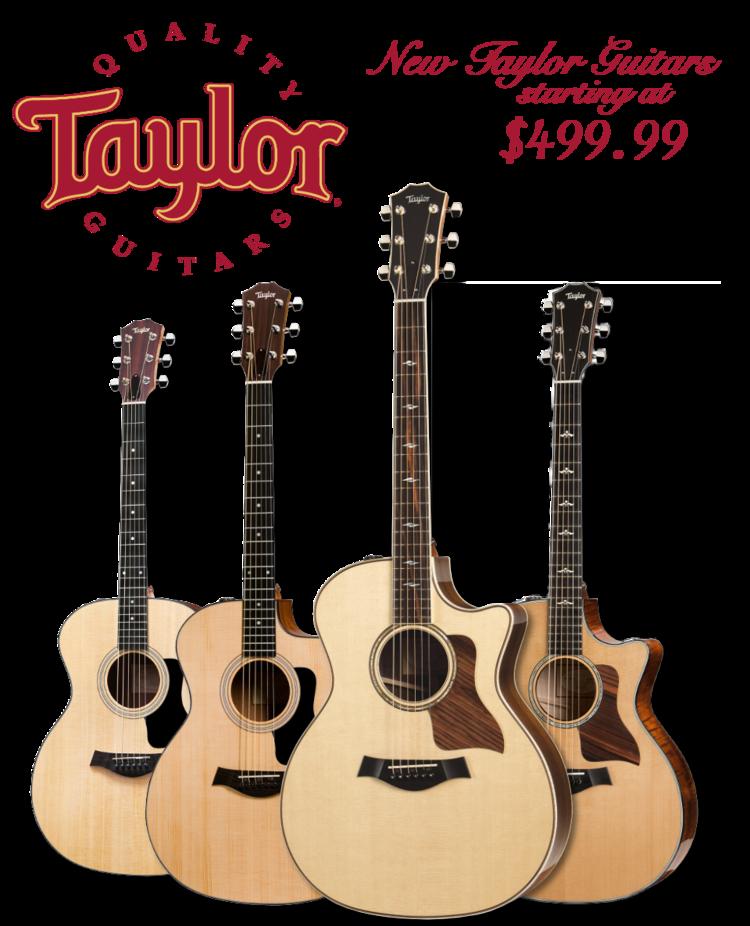 Taylor Guitars At JW Music