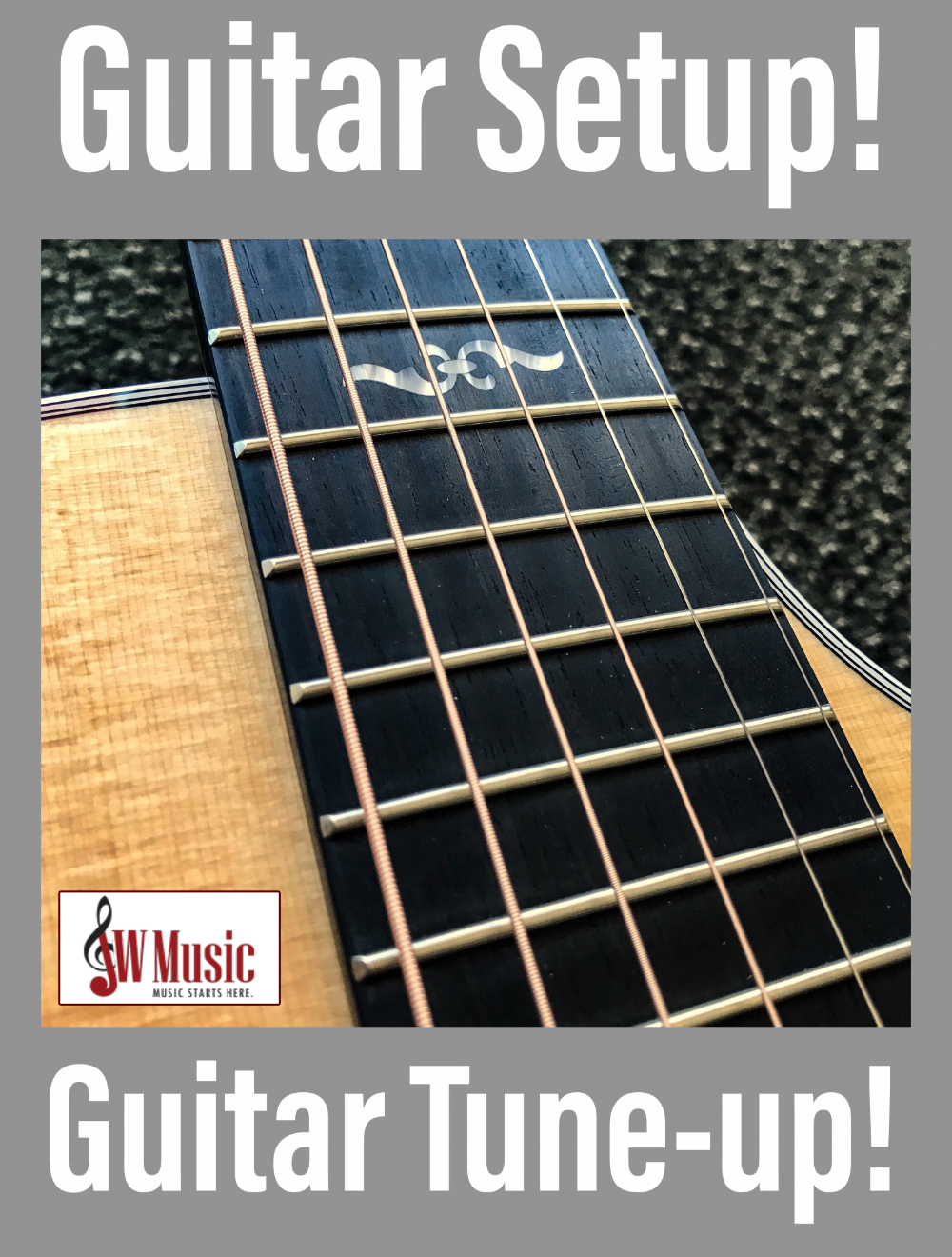 Guitar Tune-ups at JW Music!
