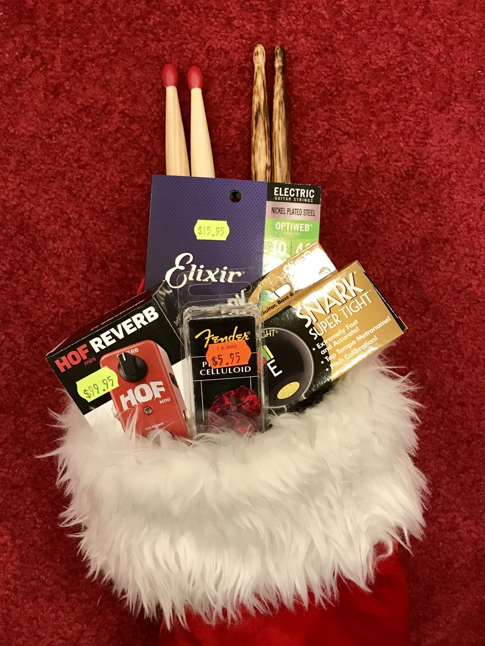 Stocking stuffers at JW Music!