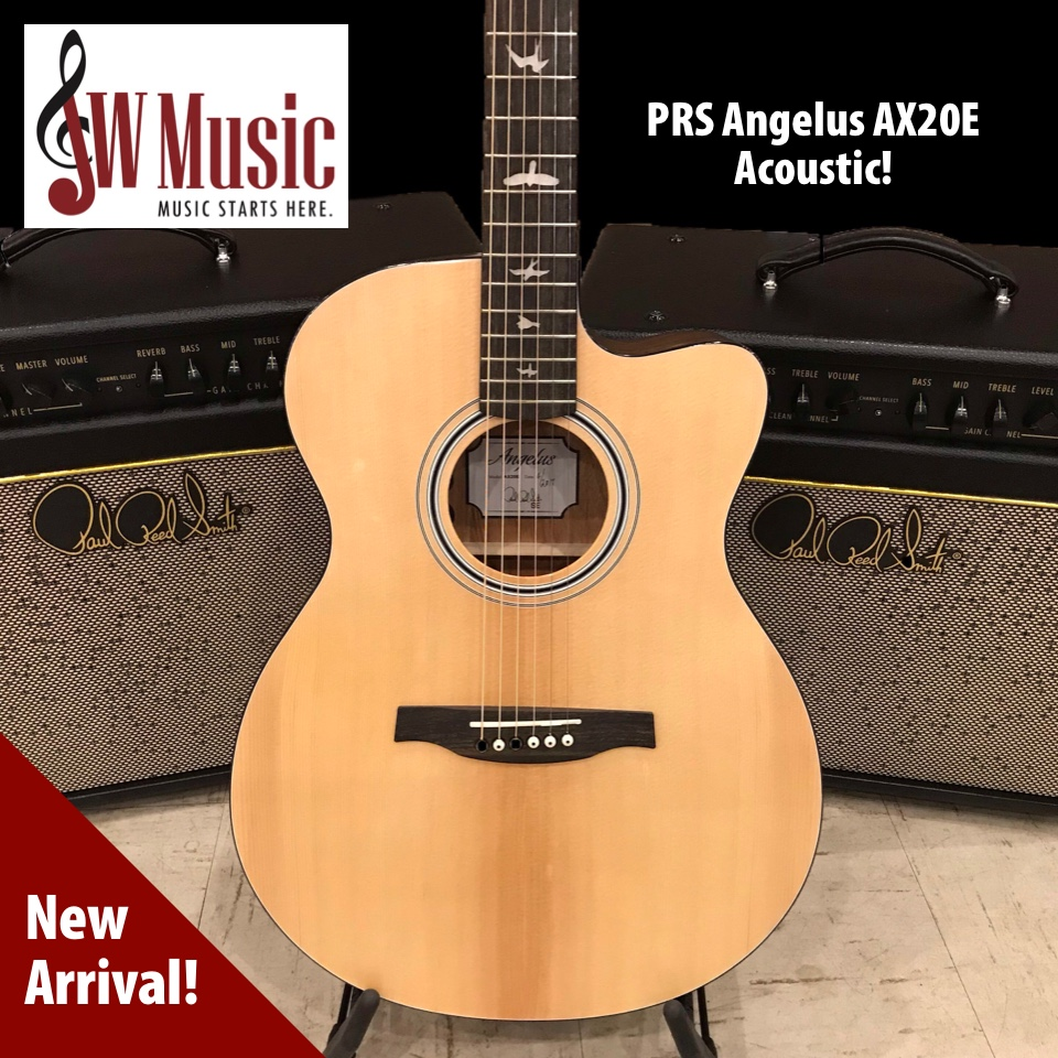 Just arrived! PRS SE AX20E Acoustic!