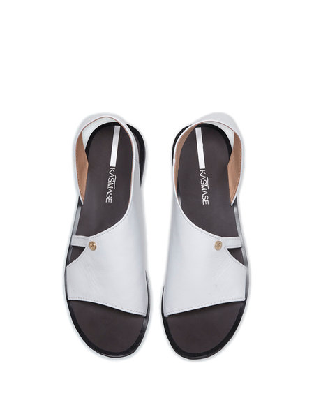 White Summer Sandal