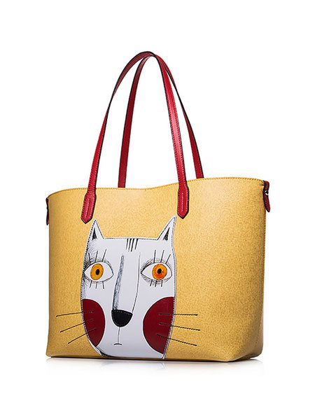 Large Cat Tote