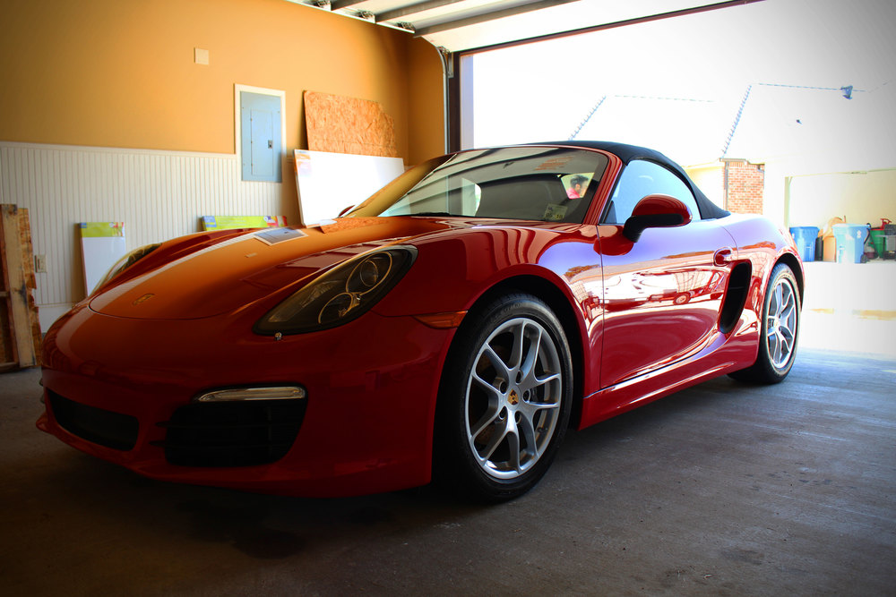 """Nick did a terrific job on my little baby ( Boxter ). I have to say he's the first detail guy to actually get my windshield clean and not smudged. THANK YOU! Nick stayed on top of the appointment and communicated very well and was super accommodating ... With my work and life schedule that was a huge deal for me. He did a great job and we will be calling him in the future."" - Marie"