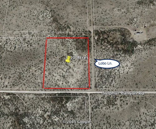 10 acres in Cochise County, Arizona – Amazing Mountain Views! Power at the  Property! Cash Price: $8,995 (Sulphur Canyon Rd )