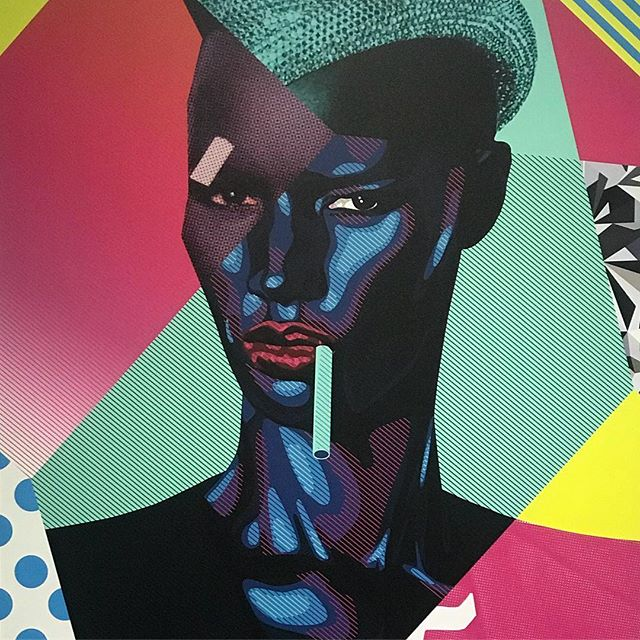 I'm really digging this Grace Jones print by @joe_murtagh_art . . . .  #sketch #modern #contemporaryart #painting #ink #sculpture #draw #fineart #creative #abstractart #streetart #artgallery #instaart #modernart #arte #contemporary #paint  #thisislondon #shutup_london #london_only #unlimitedlondon #londoncalling #londoncollective