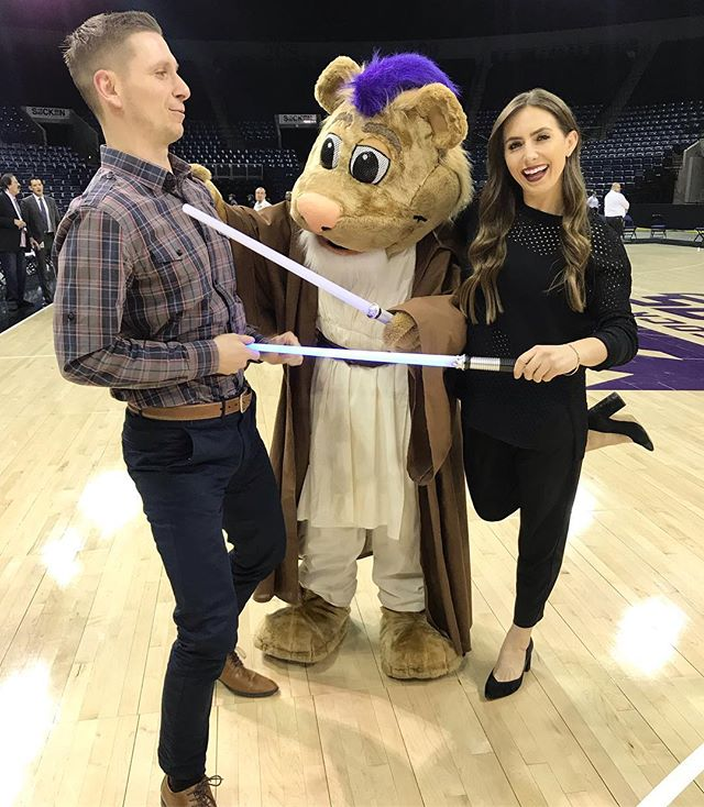 Star Wars Night at Stockton Arena, @davedeucemason dies from lightsabers & the @stocktonkings get the W.  I would say it was a good night.