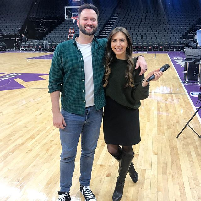 It's not everyday you get to take a picture with a 7X NBA All-Star. #nbaallstar #NBA #SacramentoProud