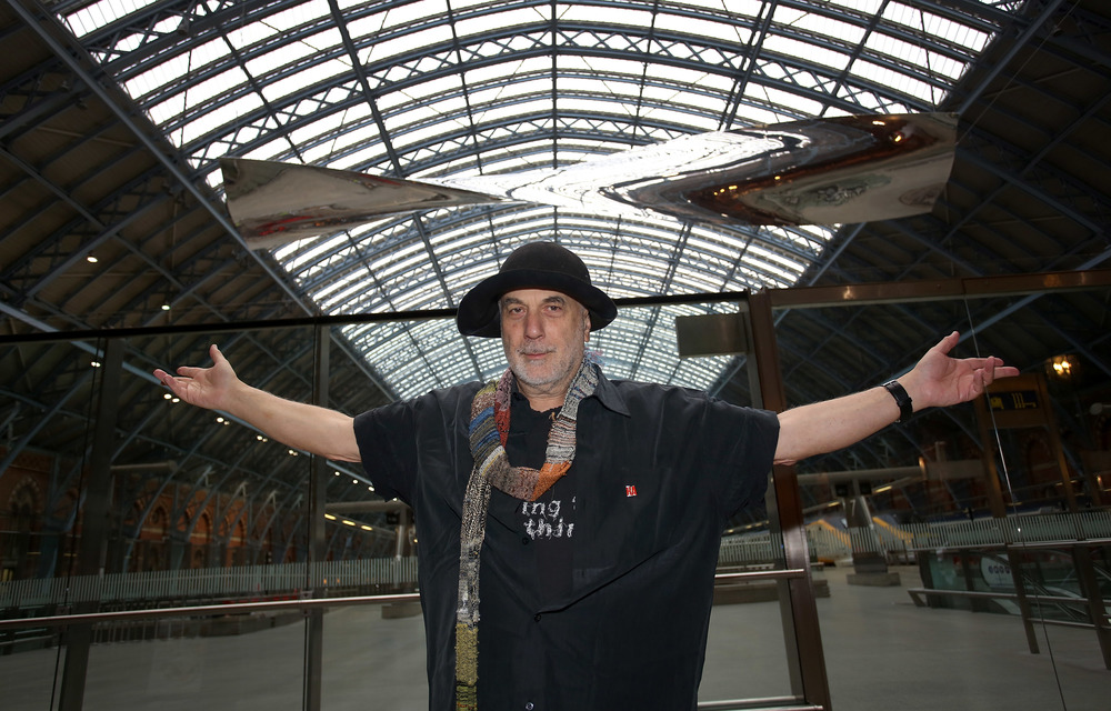 Thought of Train of Thought, 2016, by Royal Academician Ron Arad for Terrace Wires at St Pancras International station, co-presented by HS1 Ltd. and the Royal Academy of Arts © Tim Whitby, Getty Images