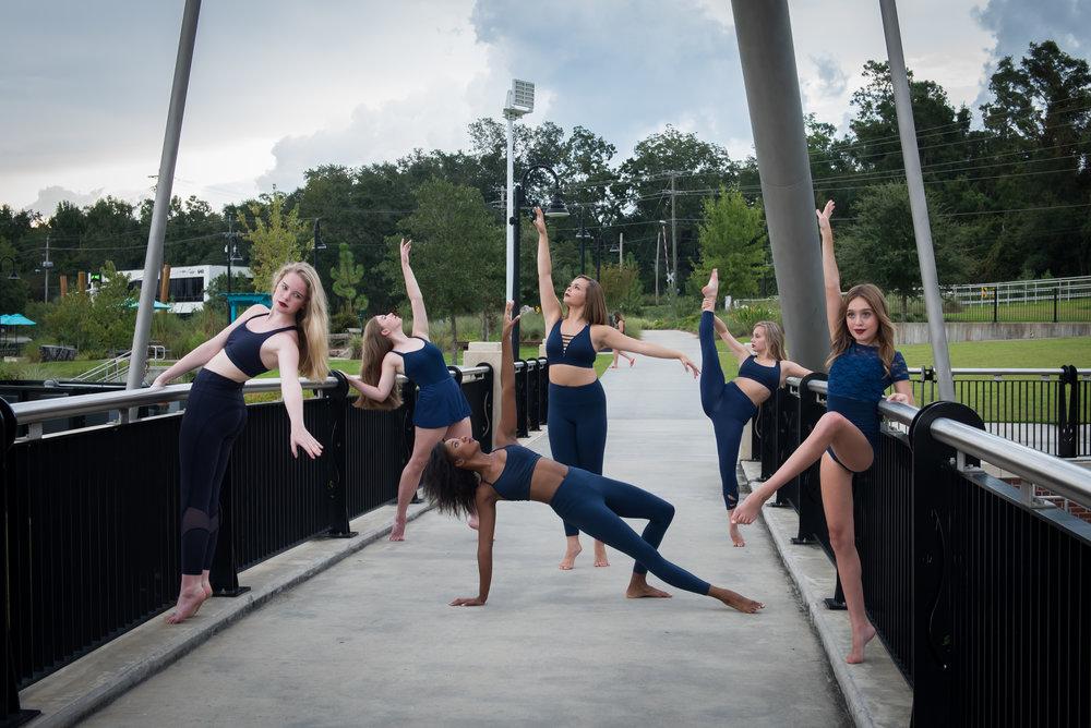 Principal Company 2017-2018 (Left to Right) Lily, Emma, Alyssa, Kenley, Ana, Ashton, not pictured: Kristen