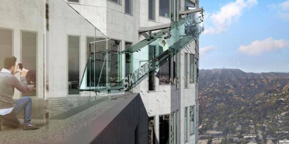 LA Skyslide | Los Angeles Architecture | Los Angeles Architect