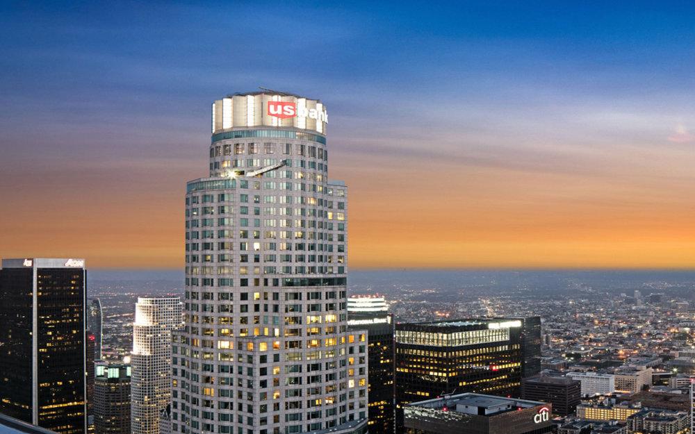 US Back Tower | LA Skyslide | Los Angeles Architect