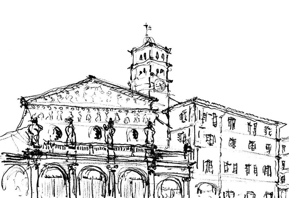 Early Catholic Church in Trestavere.jpg