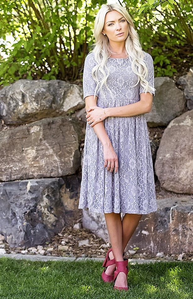Emmy Grey Modest Bridesmaids Dress