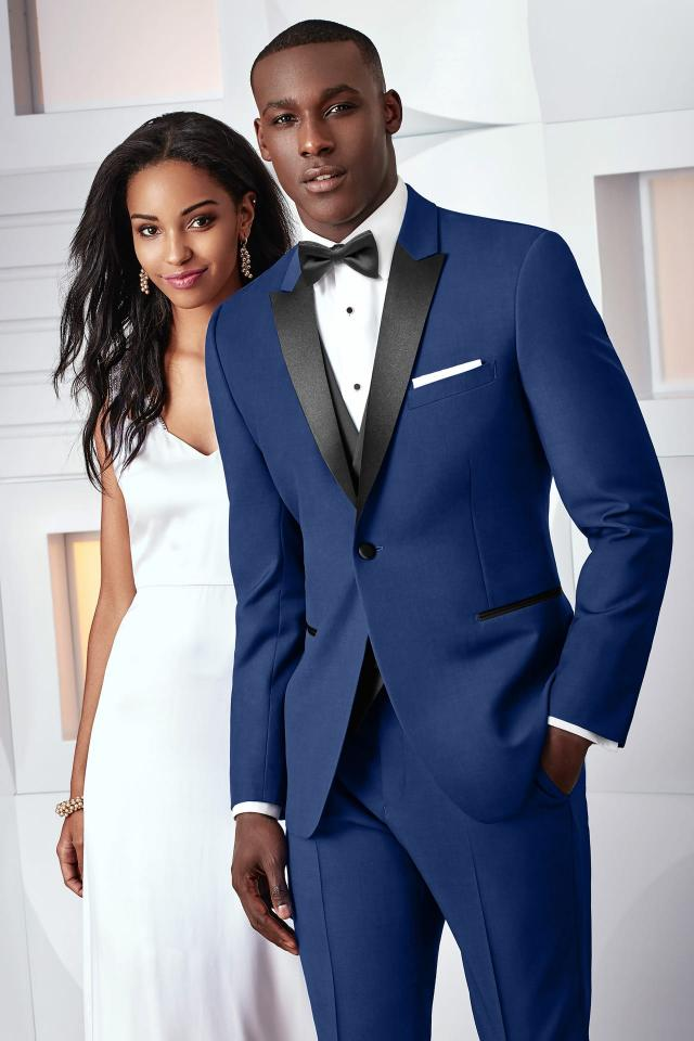 Wedding Tuxedo - Ultra Slim Cobalt Blue Tribeca