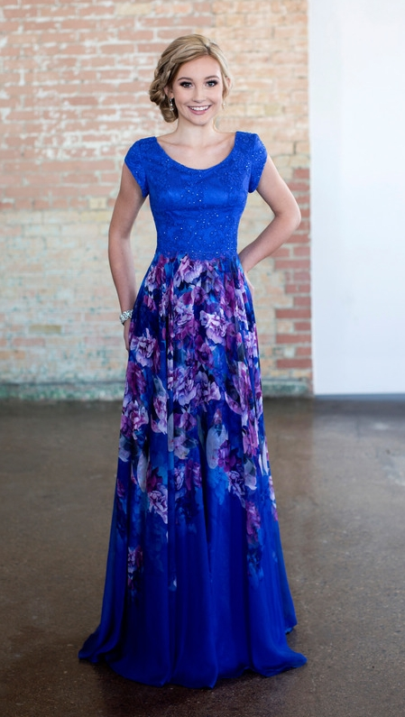 Ellie Wilde EW118191 Modest Prom