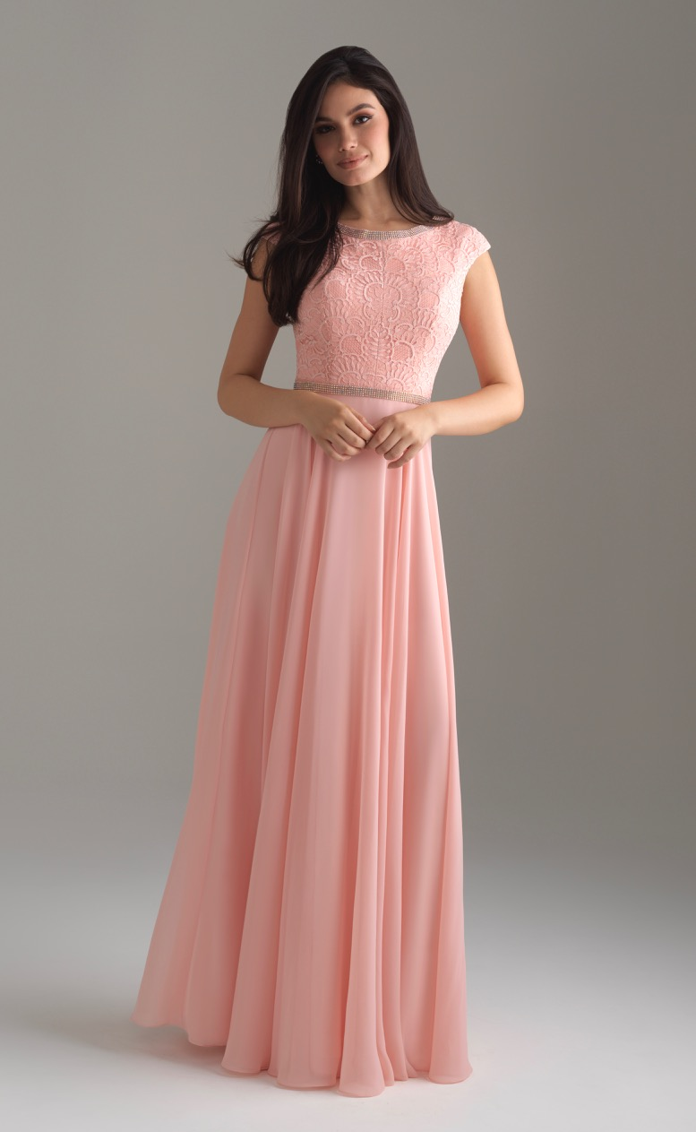 Allure 802 Blush Modest Prom