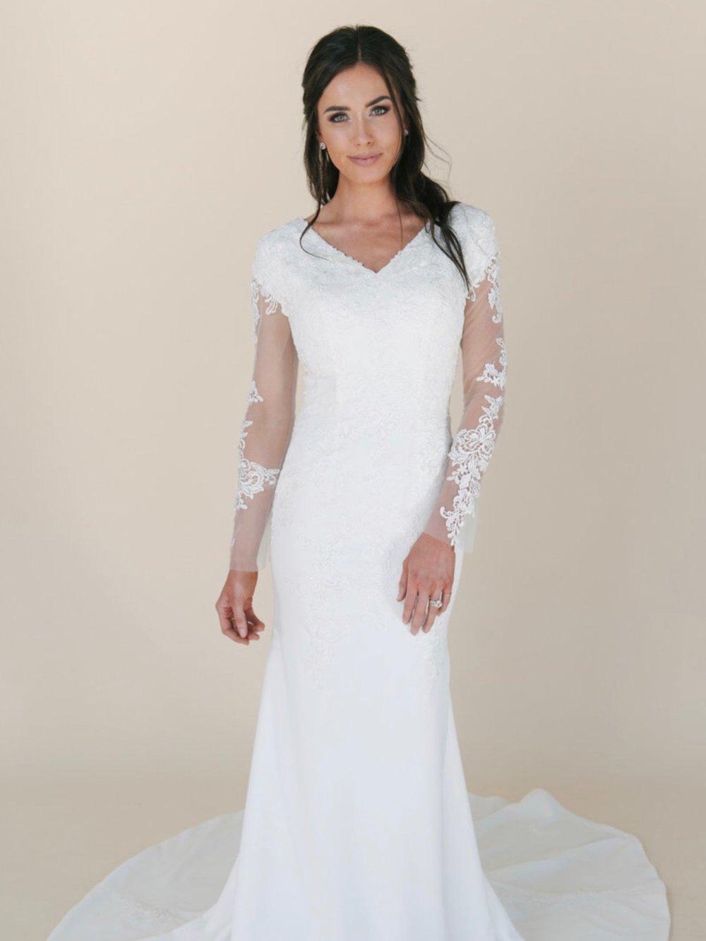 Bella Modest Wedding Dress