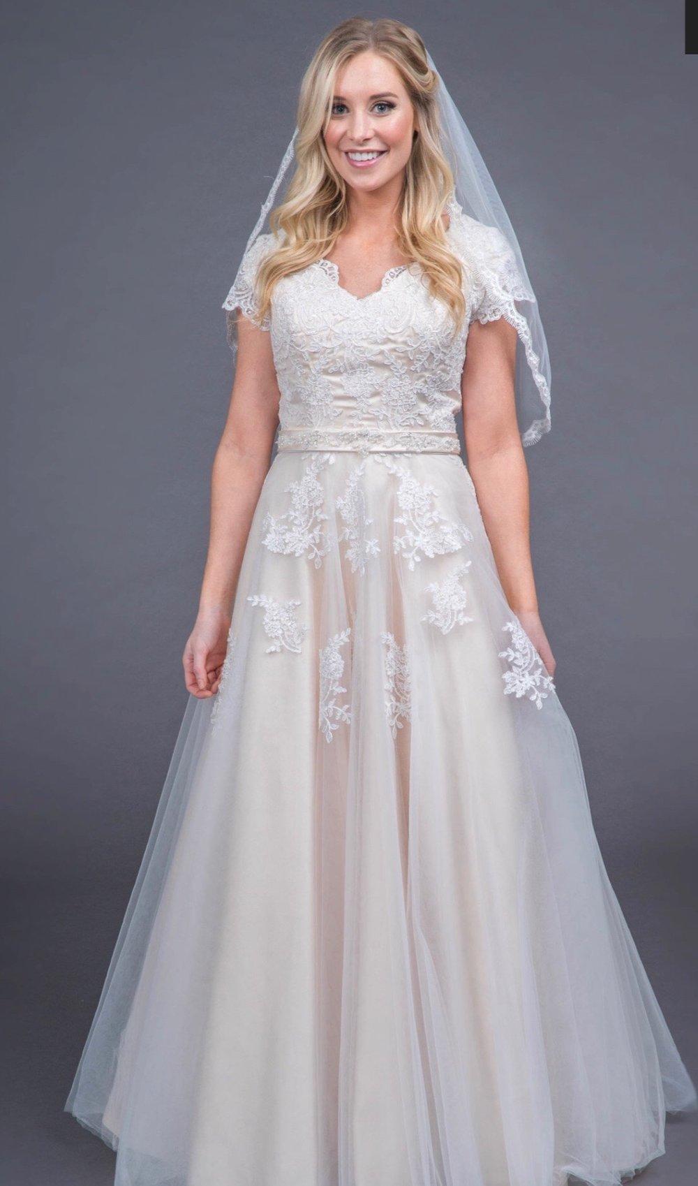Ivy Modest Wedding Dress