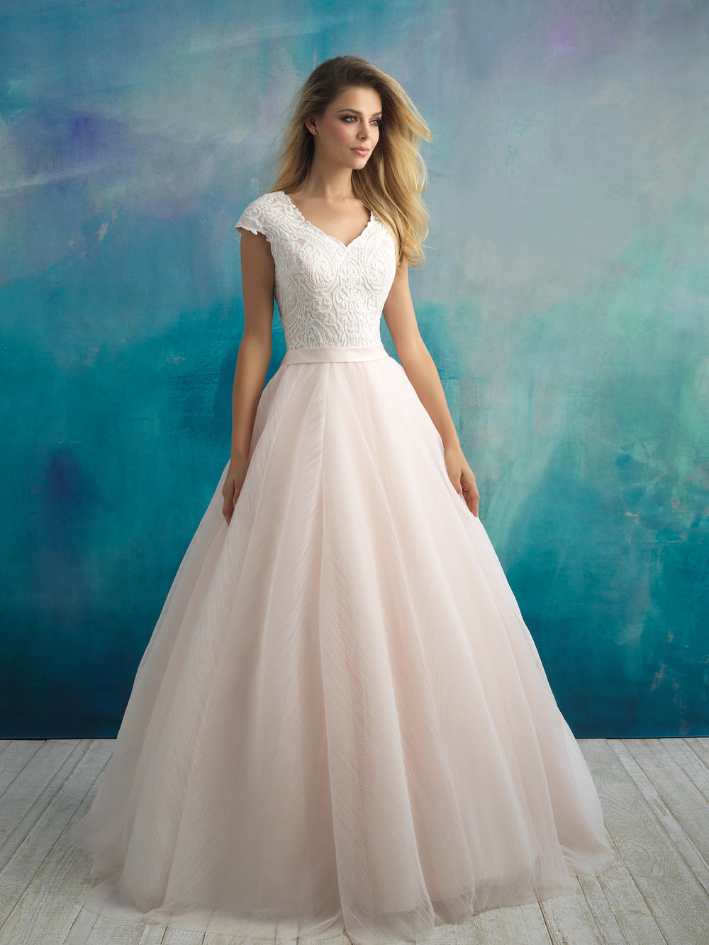 Allure M594 Modest Wedding Dress