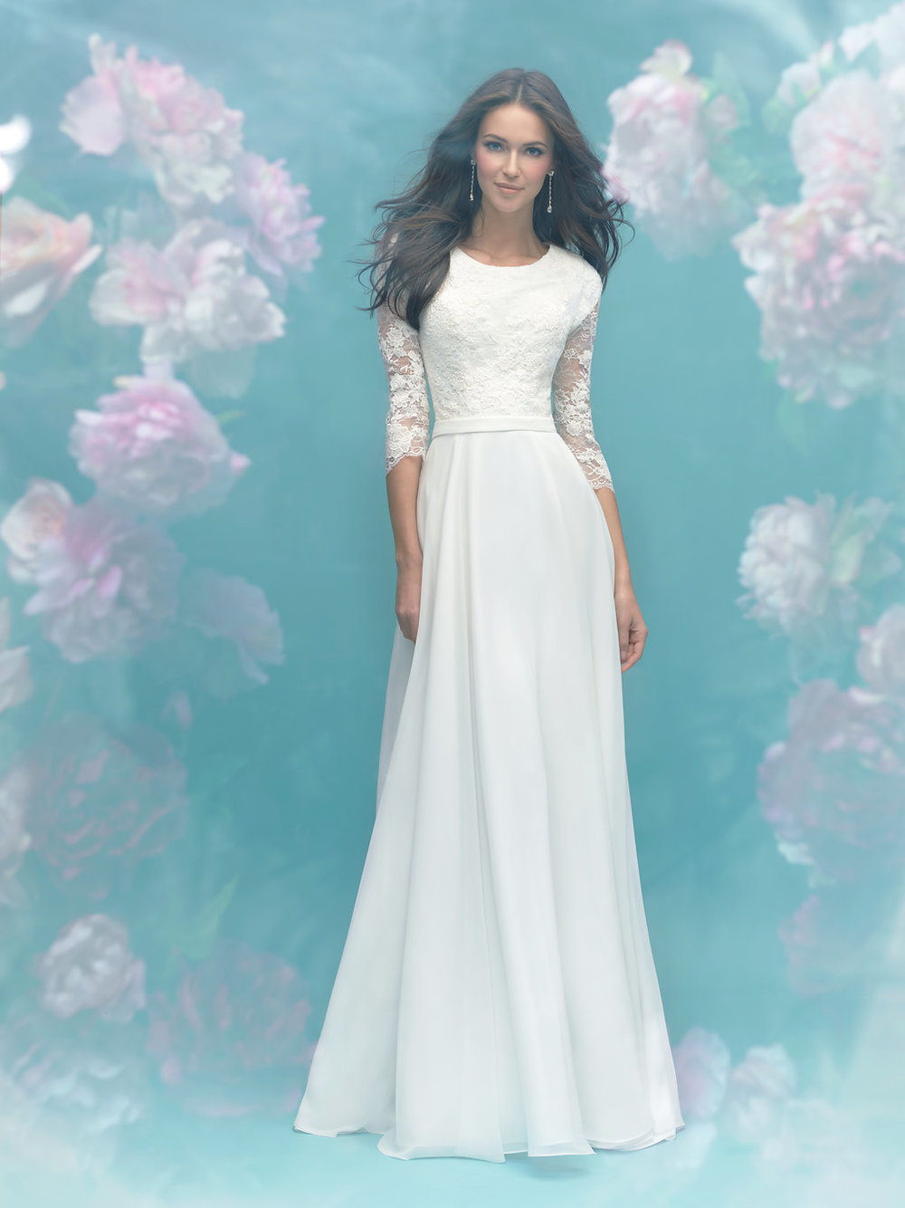 Allure M581 Modest Wedding Dress