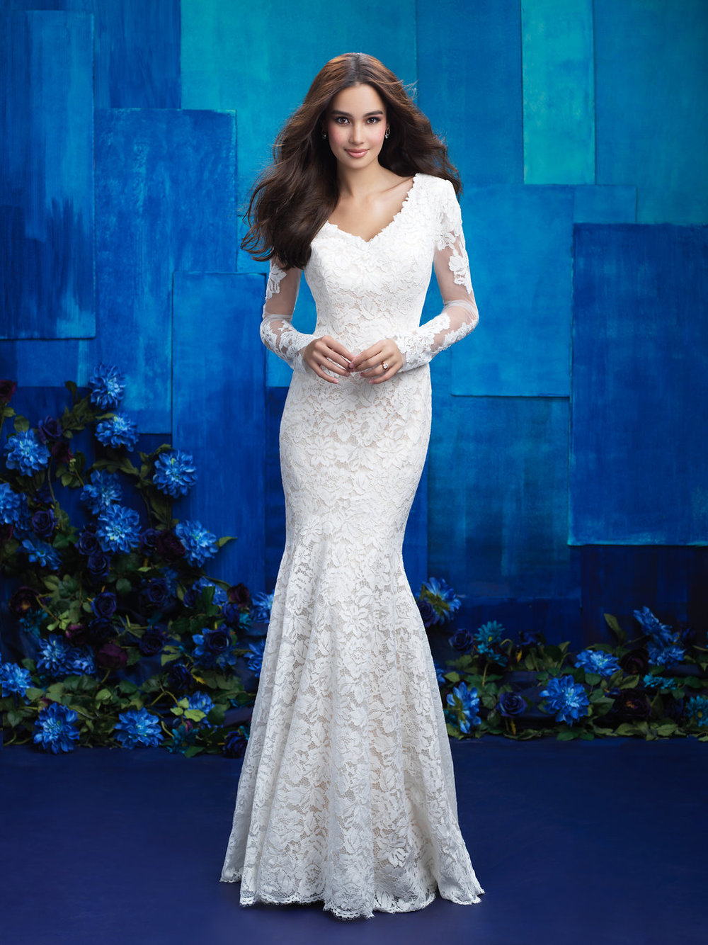Allure M571 Modest Wedding Dress