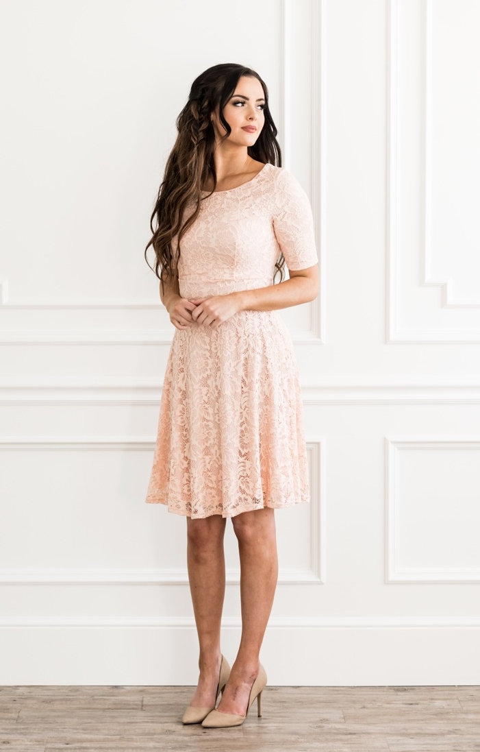 Sloan Dress Blush