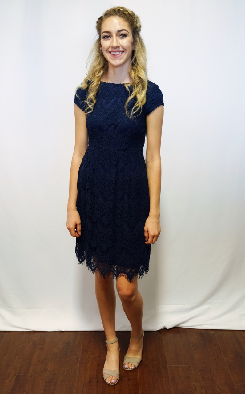Taryn Dress Navy