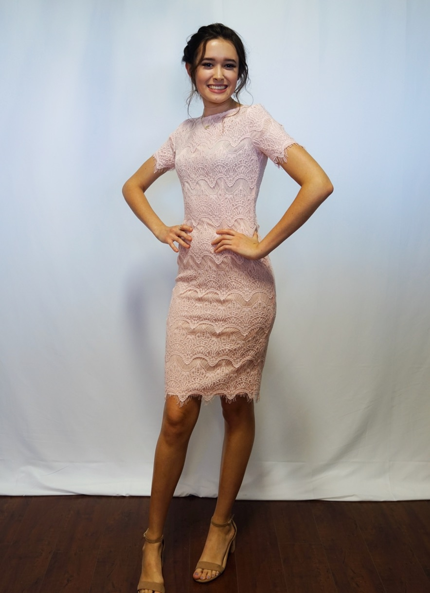 Brinley Dress Blush