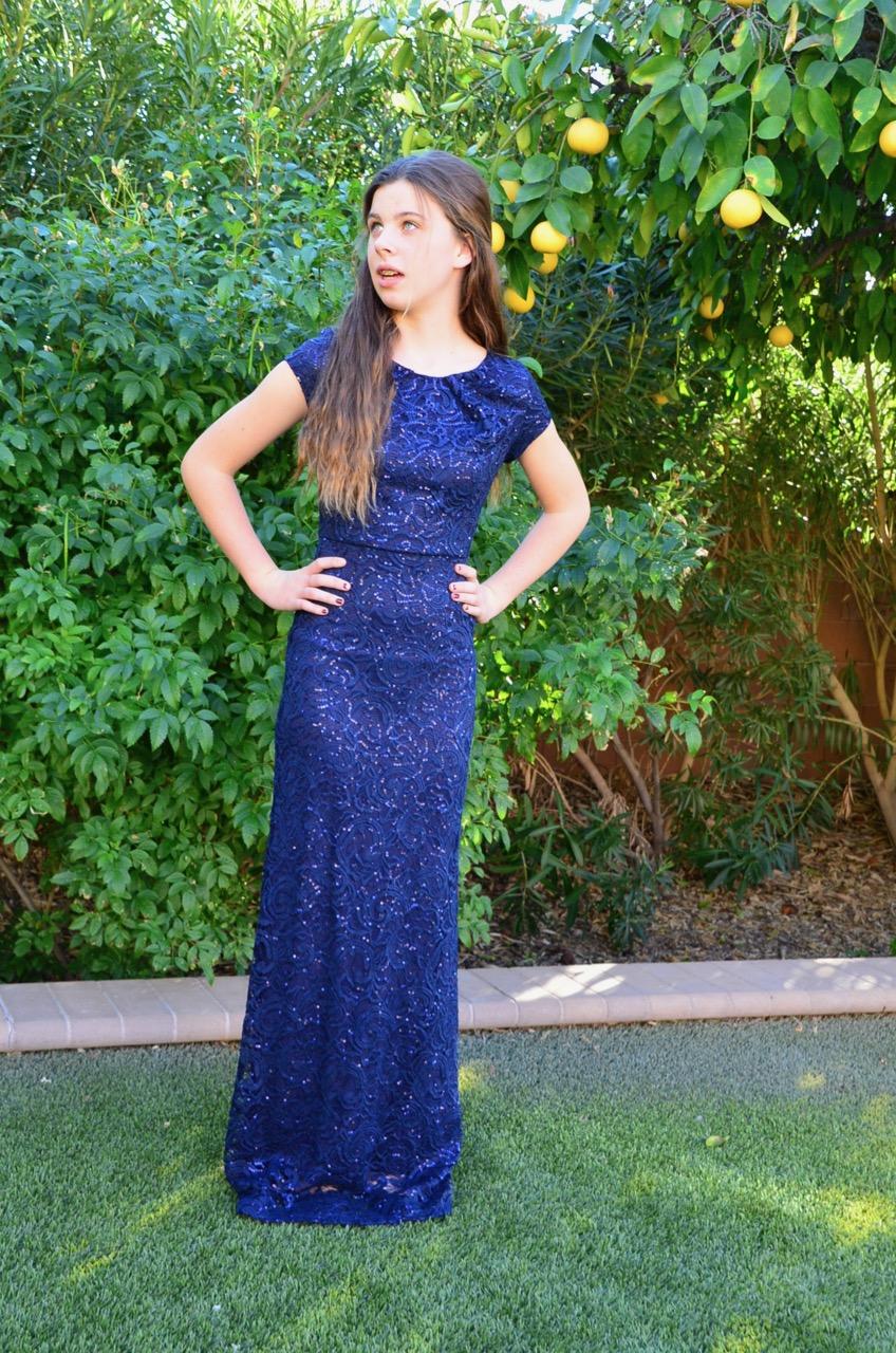 Jody Ella Navy - $149