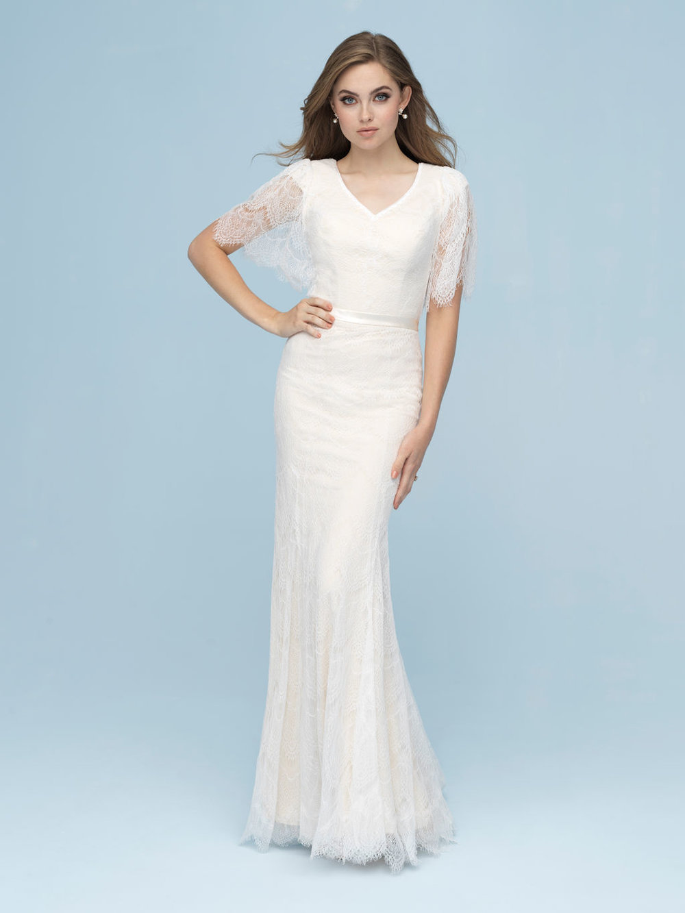 Allure M618 Modest Wedding Dress