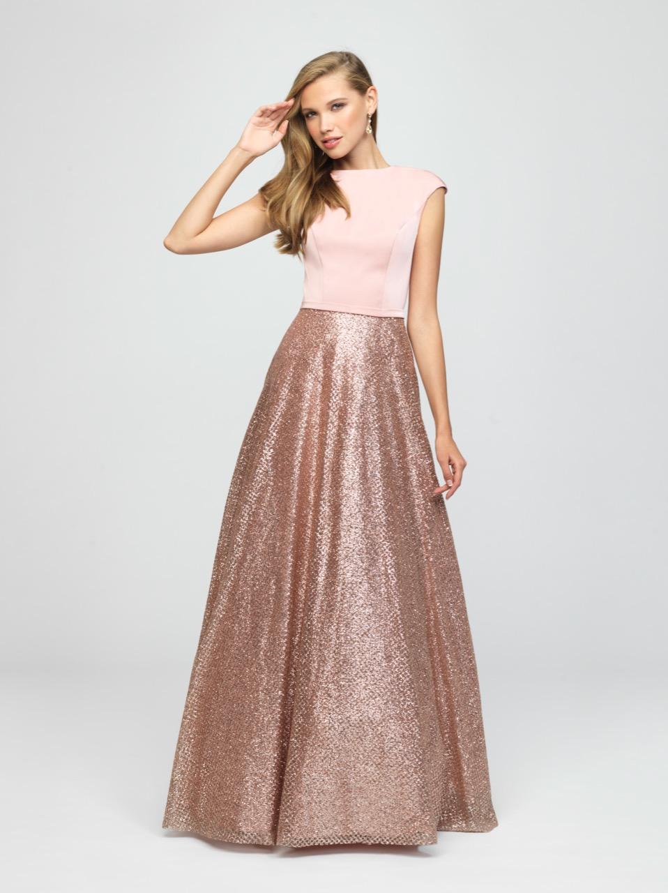 Allure 19-250M RoseGold Modest Prom
