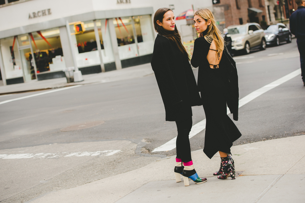 NYC Style Sister Bloggers Valentino Boots Madison Avenue