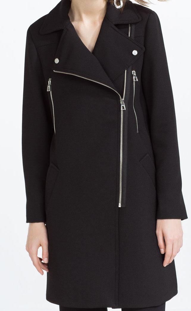 Zara Biker Coat
