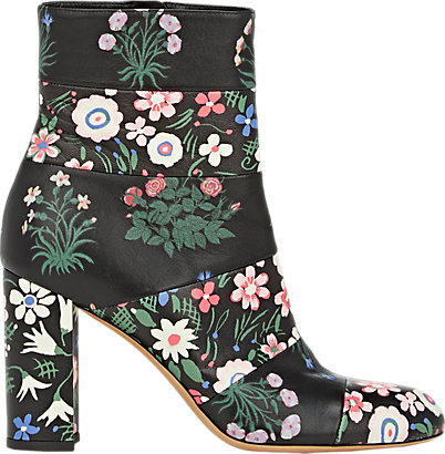 Valentino Floral Boots