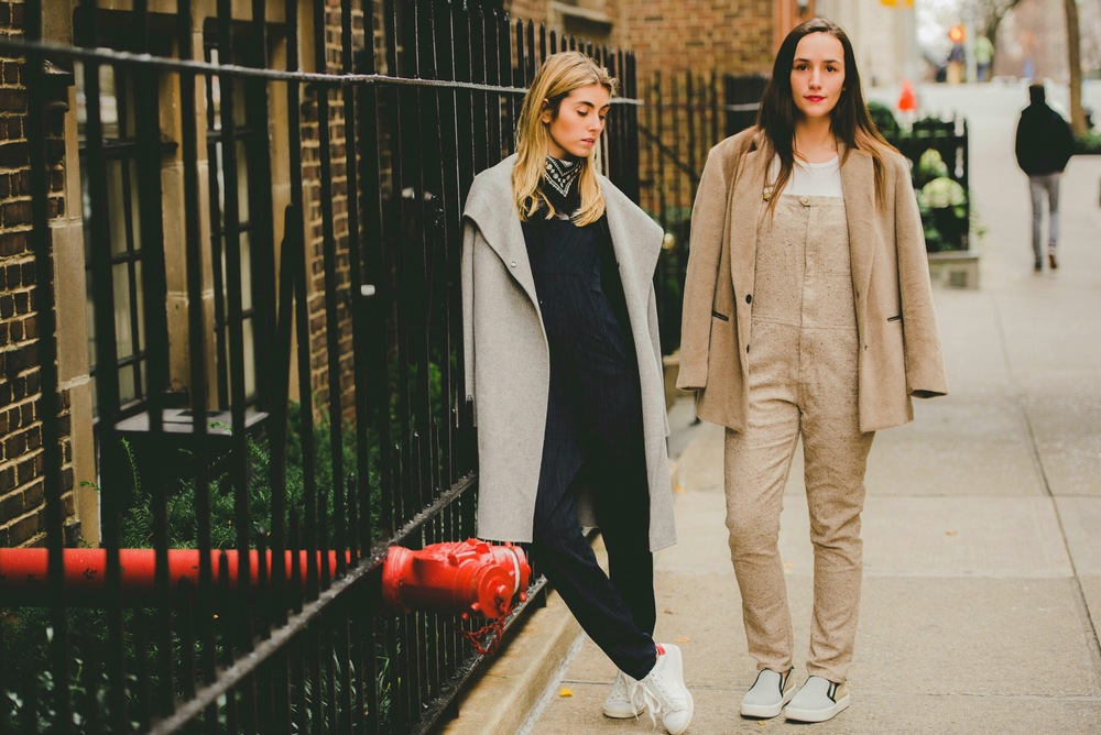 NYC Street Style Fashion Bloggers in Overalls