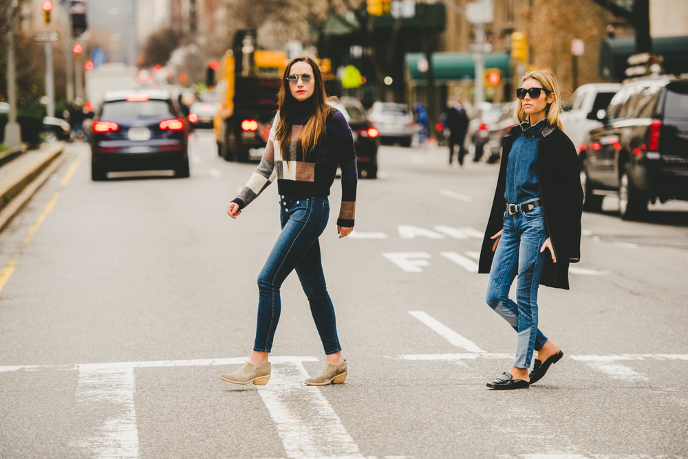 NYC SISTER FASHION BLOGGERS ON PARK AVE