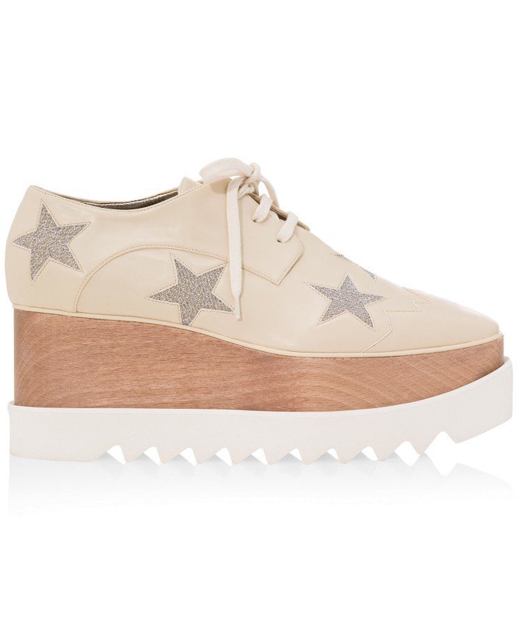 STELLA MCCARTNEY STARRED PLATFORM SHOES