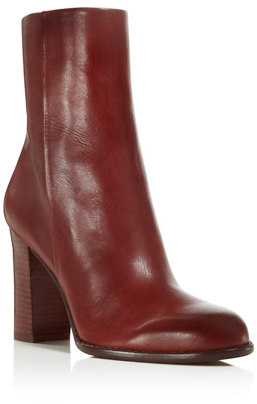 SAM EDELMAN RED HEELED BOOTS
