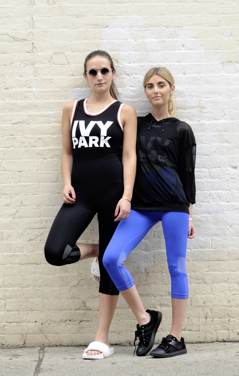 SISTER BLOGGERS WEAR BEYONCE IVY PARK LINE