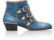 CHLOÉ DENIM ANKLE BOOTS