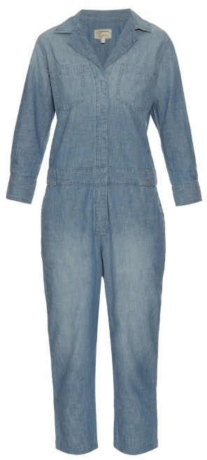 CURRENT/ELLIOTT 'THE CANAL' DENIM JUMPSUIT