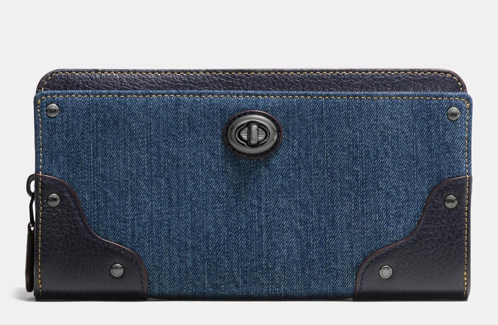 COACH DENIM WALLET