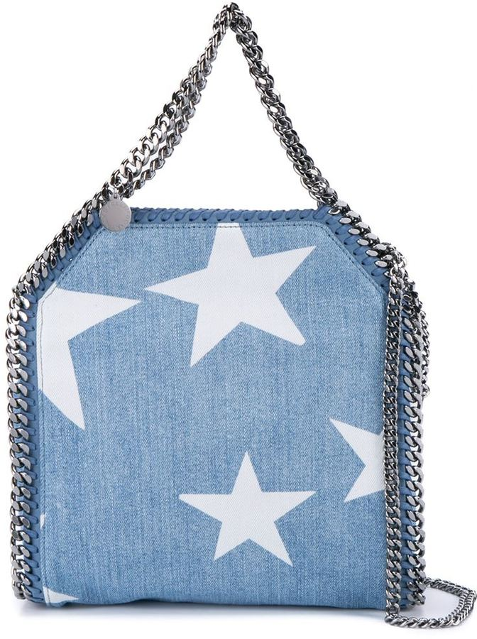 STELLA MCCARTNEY STAR DENIM BAG