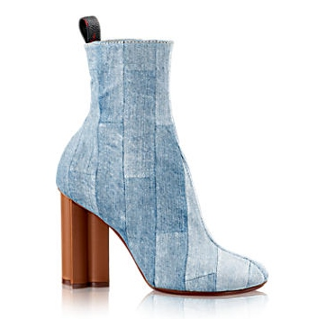 LOUIS VUITTON DENIM BOOTS