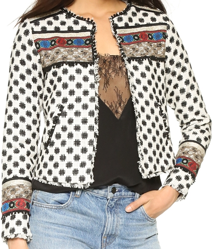 TWELFTH ST. BY CYNTHIA VINCENT EMBELLISHED JACKET