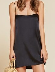 ALEGRE SILK SLIP DRESS
