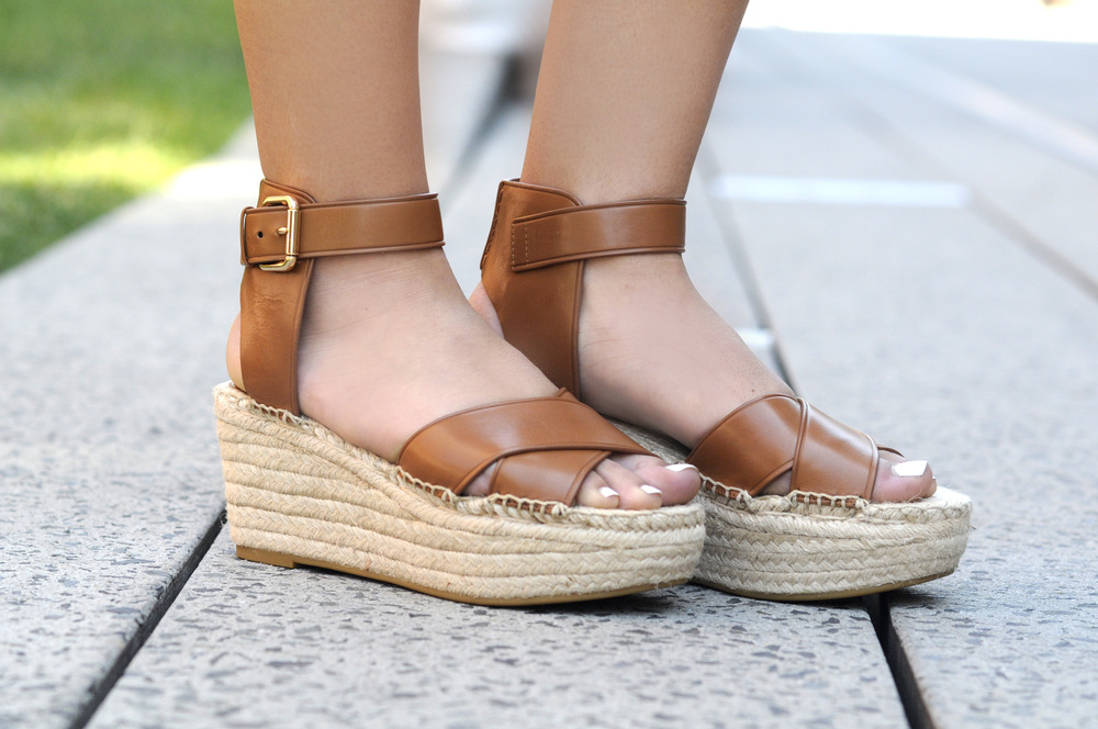 COACH 'RIMROSE' WEDGE SANDAL